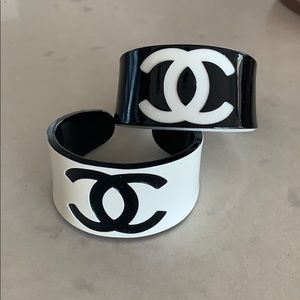 Fun inspired cuffs. Set of two